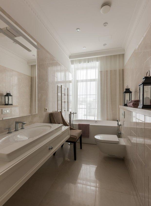 Фотография: Ванная в стиле Классический, Советы, Никита Морозов, Сантехника, KM-Studio – фото на INMYROOM