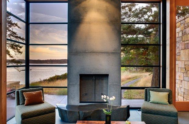 Фотография: Гостиная в стиле Скандинавский, Восточный, Дом, Дома и квартиры – фото на INMYROOM