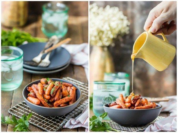 Фотография:  в стиле , Обед, Салат, Здоровое питание, Вегетарианская, Кулинарные рецепты, 45 минут, Американская кухня, Просто, Морковь, Запекание – фото на INMYROOM