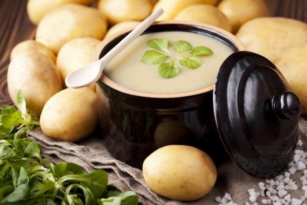 Фотография:  в стиле , Советы, Обед, Первое блюдо, Суп, Картофель, Есть сразу, Кулинарные рецепты, Варить, 30 минут – фото на INMYROOM