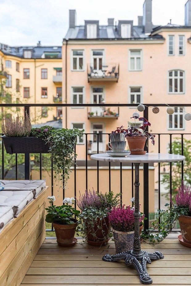 Фотография: Балкон в стиле Скандинавский, Советы – фото на INMYROOM