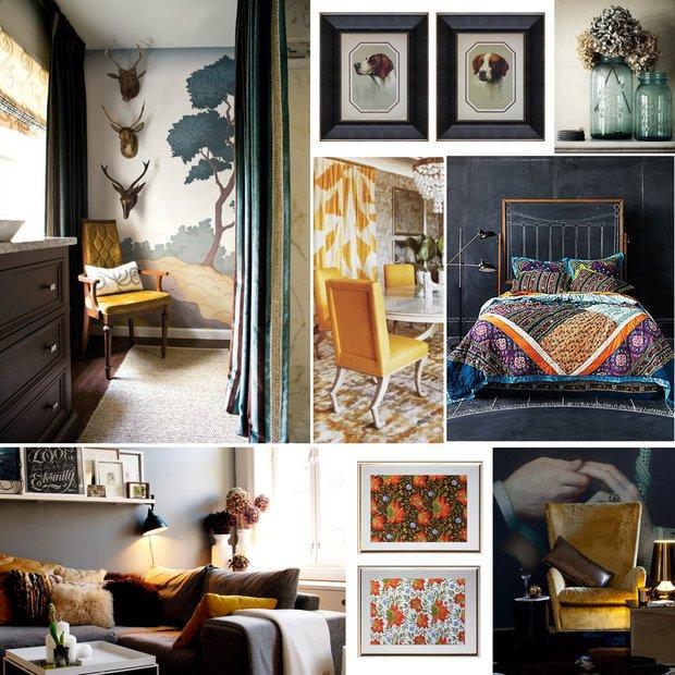 Фотография: Прочее в стиле , Декор интерьера, Дизайн интерьера, Цвет в интерьере, Картины, Картина – фото на INMYROOM