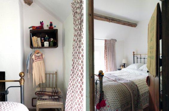 Фотография:  в стиле , Дом, Цвет в интерьере, Дома и квартиры, Стены, Балки – фото на INMYROOM