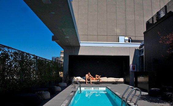 Фотография: Гостиная в стиле Скандинавский, Дома и квартиры, Городские места – фото на INMYROOM