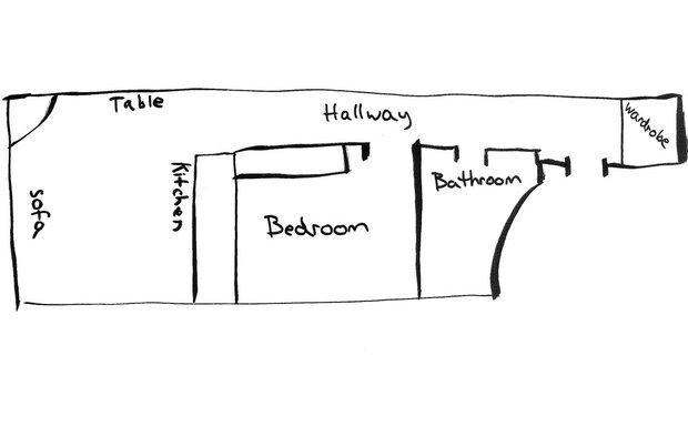 Фотография:  в стиле , Скандинавский, Эклектика, Декор интерьера, Малогабаритная квартира, Квартира, Швеция, Стокгольм, как оформить малогабаритку, как самостоятельно оформить интерьер, 2 комнаты, до 40 метров – фото на INMYROOM