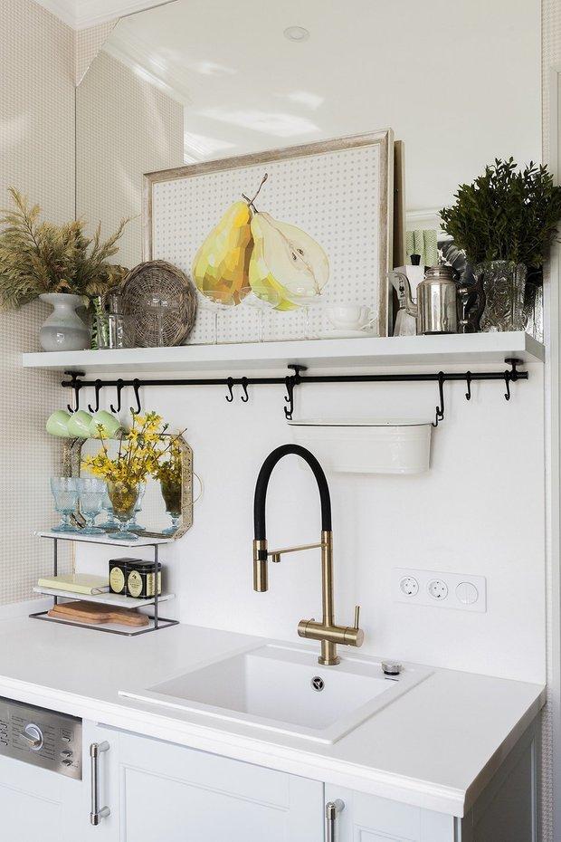 Фотография: Кухня и столовая в стиле Скандинавский, Декор интерьера, Малогабаритная квартира, Гид, до 40 метров – фото на INMYROOM