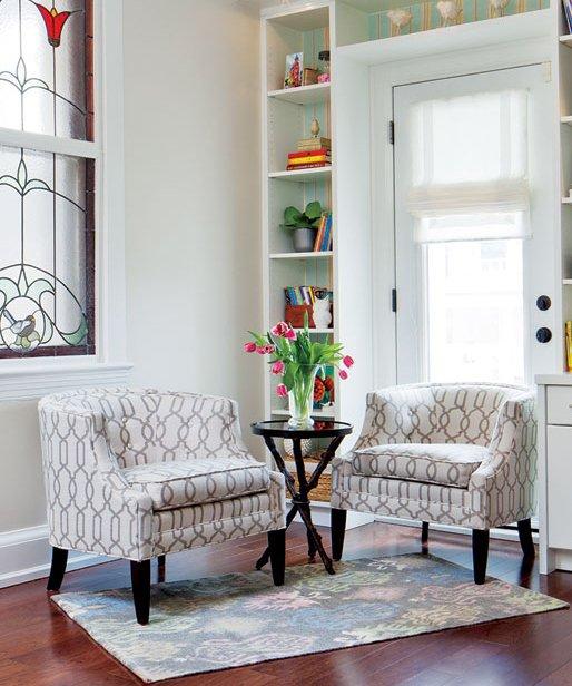 Фотография: Гостиная в стиле Современный, Декор интерьера, Дом, Цвет в интерьере, Дома и квартиры – фото на INMYROOM