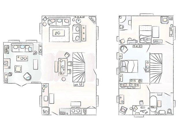 Фотография: Планировки в стиле , Прованс и Кантри, Эклектика, Декор интерьера, Дом, Бежевый, Винтаж, ИКЕА, как сэкономить, Англия, эклектика в нитерьере, как оформить интерьер в стиле рустик – фото на INMYROOM