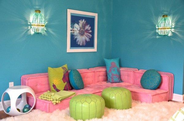 Фотография: Гостиная в стиле Восточный, Детская, Интерьер комнат, Декор – фото на INMYROOM