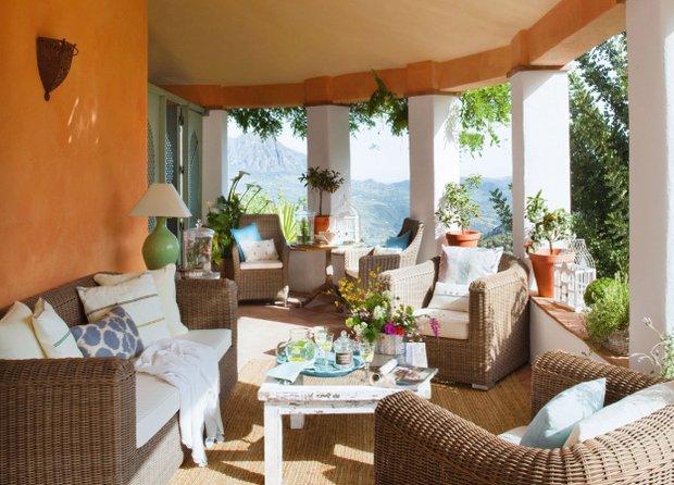 Фотография: Балкон, Терраса в стиле Прованс и Кантри, Дом, Дома и квартиры, Средиземноморский – фото на INMYROOM