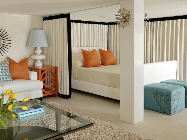 Фотография: Спальня в стиле Восточный, Эклектика, Гостиная, Интерьер комнат – фото на INMYROOM