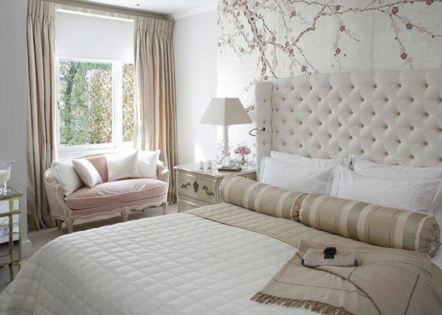 Фотография: Спальня в стиле Прованс и Кантри, Декор интерьера, Зеленый, Бежевый, Серый, Розовый, Голубой – фото на INMYROOM