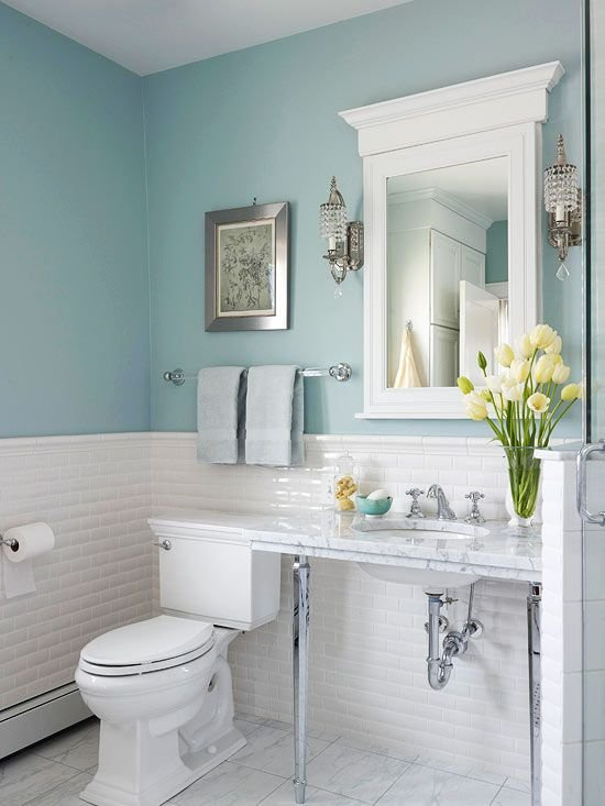 Фотография: Ванная в стиле Скандинавский, Эклектика, Интерьер комнат – фото на INMYROOM