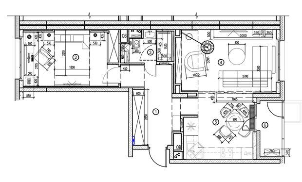 Фотография: Планировки в стиле , Советы, Екатерина Саламандра, Бюро «Общая Площадь» – фото на INMYROOM