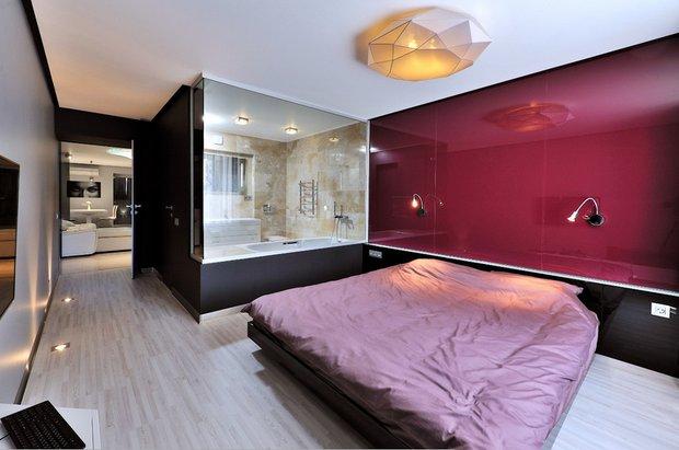 Фотография: Спальня в стиле Хай-тек, Лофт, Скандинавский, Современный, Восточный, Квартира, Минимализм, Эко, напольное покрытие – фото на INMYROOM