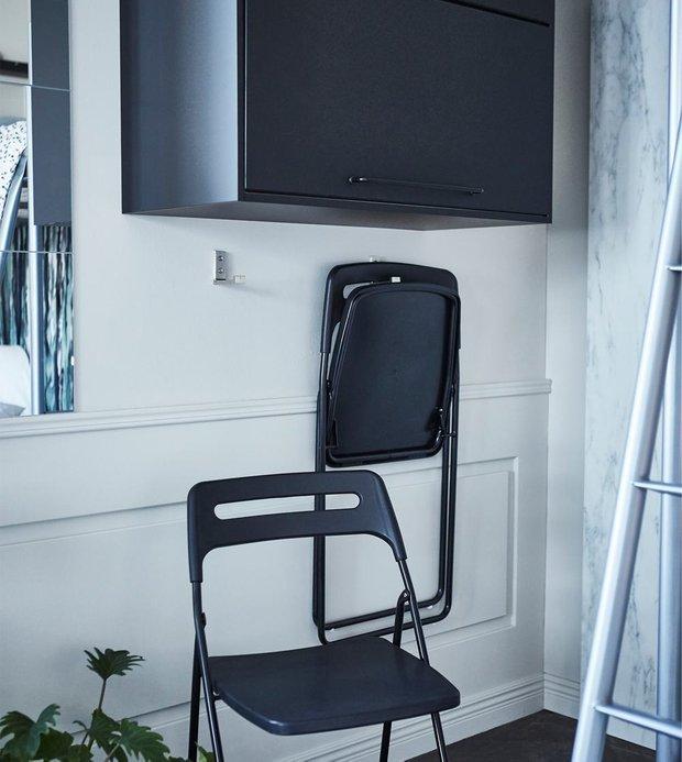 Фотография:  в стиле , Малогабаритная квартира, Гид, ИКЕА, как оформить малогабаритку, идеи для малогабаритки – фото на INMYROOM