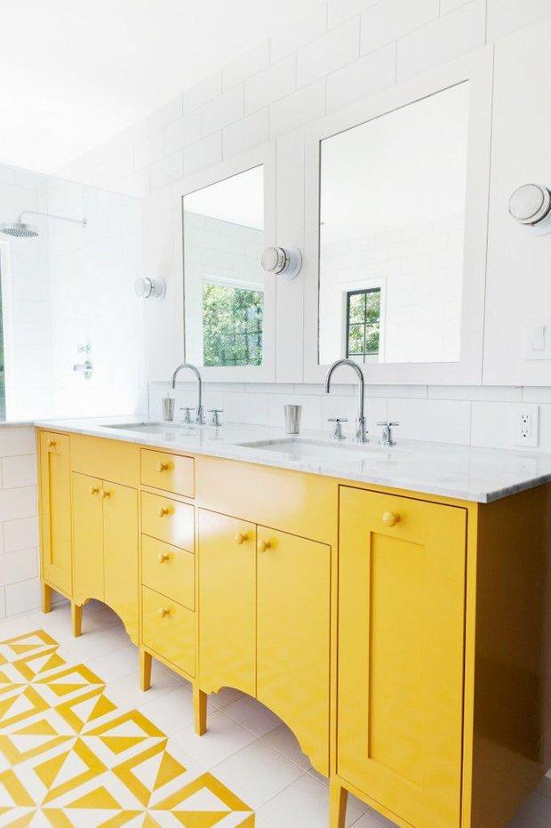 Фотография: Ванная в стиле Скандинавский,  – фото на INMYROOM