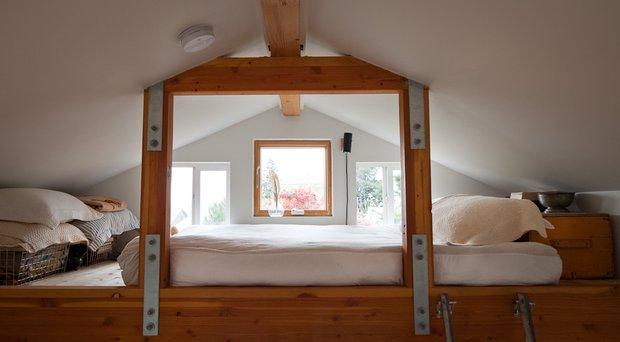 Фотография: Спальня в стиле Лофт, DIY, Малогабаритная квартира, Квартира, Дом, Дома и квартиры – фото на INMYROOM