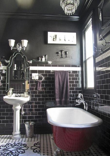 Фотография: Ванная в стиле Прованс и Кантри, Декор интерьера, Аксессуары, Декор, Белый, Черный, Желтый, Серый, Бирюзовый – фото на INMYROOM