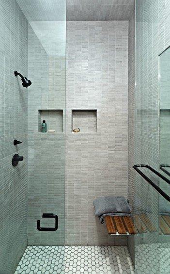 Фотография: Ванная в стиле Минимализм, Декор интерьера, Малогабаритная квартира, Квартира, Цвет в интерьере, Дома и квартиры, Белый – фото на INMYROOM