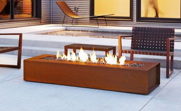Фотография: Терраса в стиле Современный, Лофт, Хай-тек, Декор интерьера, Декор, CorTen, сталь-кортен, кортен – фото на INMYROOM