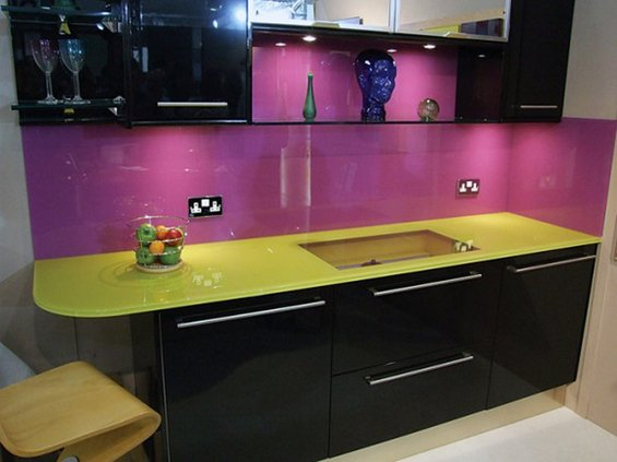 Фотография: Кухня и столовая в стиле Современный, Декор интерьера, Дом, Декор дома, Плитка, Мозаика, Кухонный фартук – фото на INMYROOM