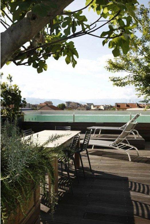 Фотография: Ландшафт в стиле Современный, Дом, Дома и квартиры – фото на INMYROOM