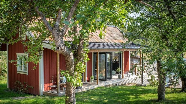 Фотография:  в стиле , Дом, Швеция, Дача, Дом и дача, 2 комнаты, до 40 метров – фото на INMYROOM