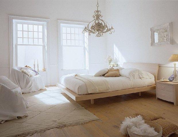 Фотография: Спальня в стиле Прованс и Кантри, Скандинавский, Современный, Цвет в интерьере – фото на INMYROOM