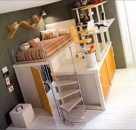 Фотография: Детская в стиле Современный, Квартира, Советы, Даша Ухлинова, как обустроить детскую в однушке, детская в однокомнатной квартире – фото на INMYROOM