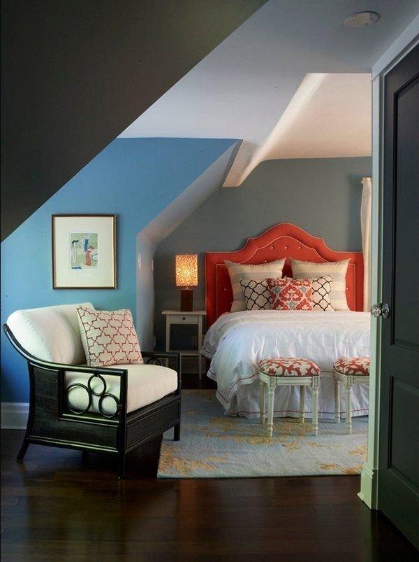 Фотография: Спальня в стиле Прованс и Кантри, Классический, Современный, Чердак, Мансарда – фото на INMYROOM