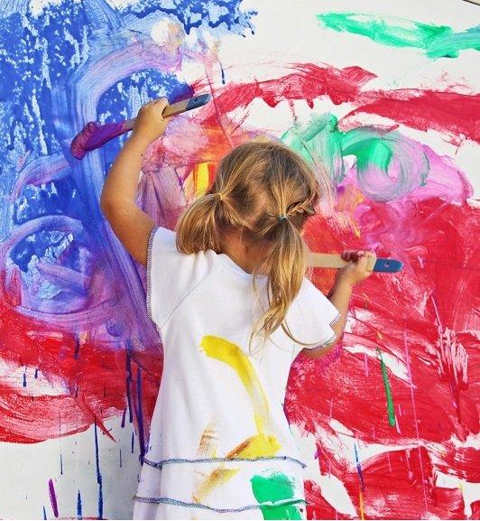 Фотография: Декор в стиле Современный, Детская, Интерьер комнат, Обои, Ремонт, Стены, Краска – фото на INMYROOM