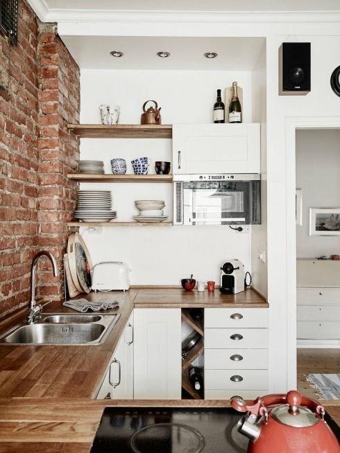 Фотография: Кухня и столовая в стиле Лофт, Современный, Планировки, Советы – фото на INMYROOM