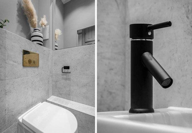 Фотография: Ванная в стиле Скандинавский, Классический, Декор интерьера, Швеция, Бежевый, Стокгольм, Серый, 3 комнаты, 60-90 метров – фото на INMYROOM