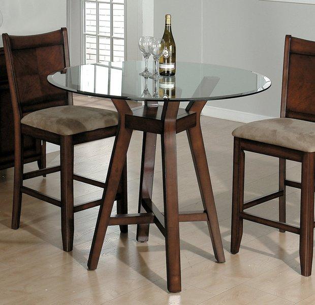 Фотография: Мебель и свет в стиле Современный, Кухня и столовая, Малогабаритная квартира, Интерьер комнат – фото на INMYROOM