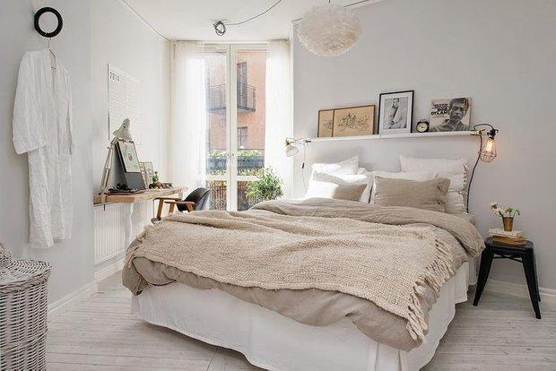 Фотография:  в стиле , Спальня, Декор интерьера, Декор, Советы, Askona, Аскона, «Аскона» – фото на INMYROOM