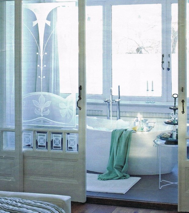 Фотография: Ванная в стиле Современный, Интерьер комнат, Ванна – фото на INMYROOM