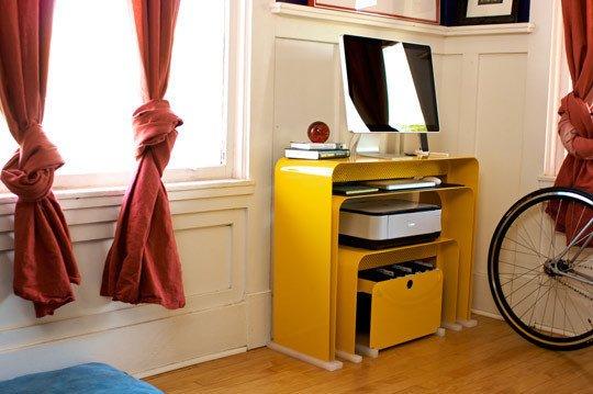 Фотография: Кухня и столовая в стиле Лофт, Современный, Кабинет, Интерьер комнат – фото на INMYROOM