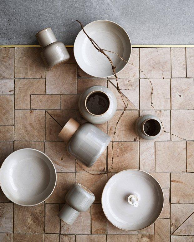 Серия посуды и аксессуаров Earthenware для Fritz Hansen