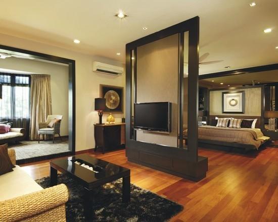 Фотография: Гостиная в стиле Восточный, Эклектика, Спальня, Интерьер комнат – фото на INMYROOM