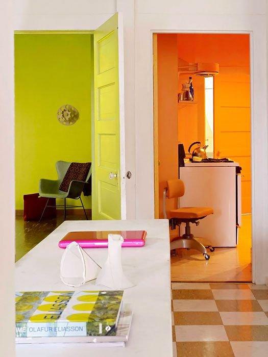 Фотография: Мебель и свет в стиле Скандинавский, Современный, Декор интерьера, Дизайн интерьера, Цвет в интерьере, Желтый – фото на INMYROOM