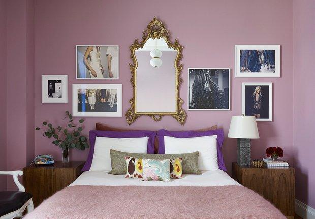 Фотография: Спальня в стиле Современный, Декор интерьера, Зеркала, декор зеркалами – фото на INMYROOM