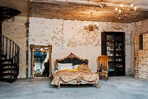 Фотография: Спальня в стиле Прованс и Кантри, Стены, Шебби-шик, Барокко – фото на INMYROOM