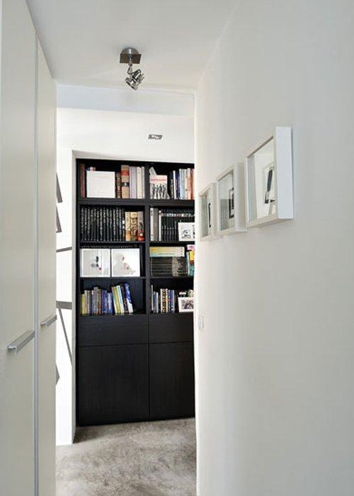 Фотография:  в стиле Современный, Декор интерьера, Квартира, Цвет в интерьере, Дома и квартиры, Стены, Мадрид – фото на INMYROOM