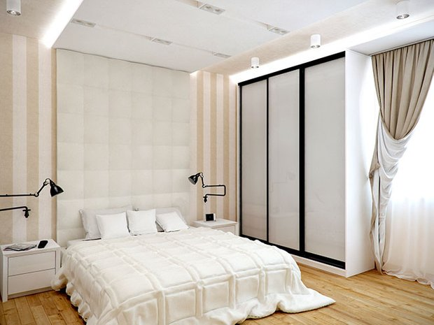 Фотография: Спальня в стиле Лофт, Современный, Декор интерьера, Декор дома, Обои – фото на INMYROOM