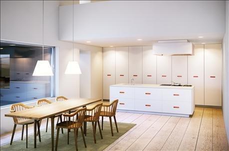Фотография: Кухня и столовая в стиле Минимализм, Декор интерьера, Квартира, Дом, Интерьер комнат, Цвет в интерьере, Белый – фото на INMYROOM