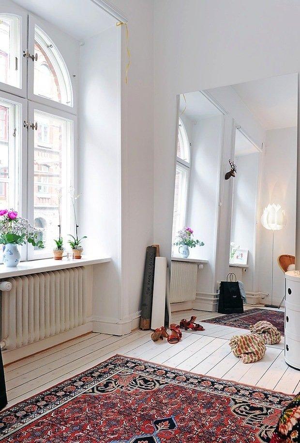 Фотография: Прихожая в стиле Скандинавский, Декор интерьера, ковер в интерьере – фото на INMYROOM