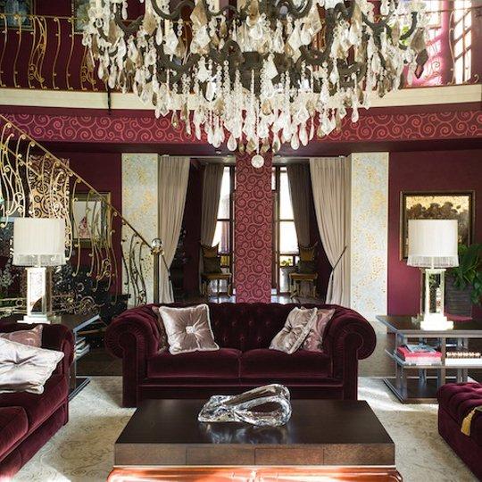 Фотография: Гостиная в стиле Классический, Декор интерьера, Дизайн интерьера, Марат Ка, Декоративная штукатурка, Альтокка – фото на INMYROOM