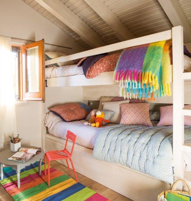 Фотография: Детская в стиле Эко, Дом, Испания, Дача, Бежевый, Дом и дача, 4 и больше, Более 90 метров – фото на INMYROOM