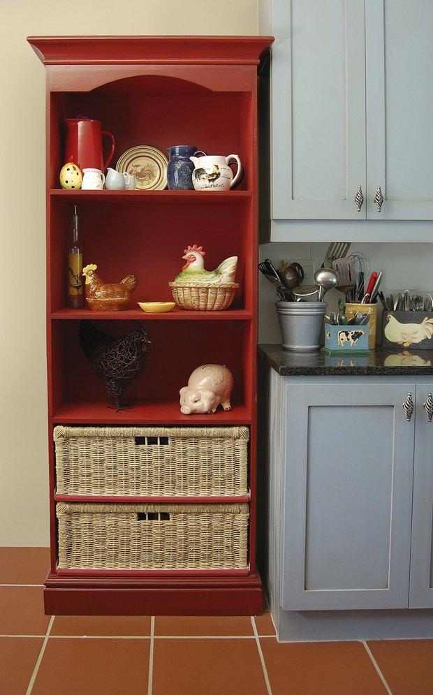 Фотография: Кухня и столовая в стиле Прованс и Кантри, Интерьер комнат, HOFF, Системы хранения – фото на INMYROOM